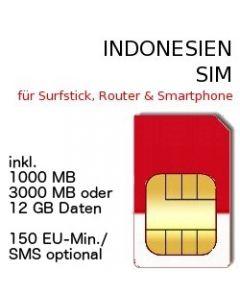 Indonesien SIM