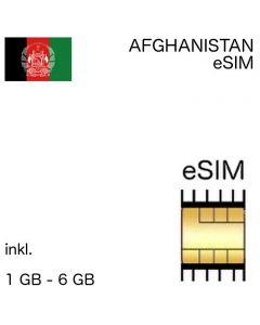 Afghanistan eSIm Afghanisch