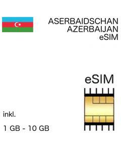 Aserbaidschanische eSIm Aserbaidschan