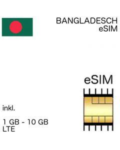 eSIM Bangladesch
