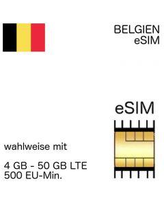 belgische eSIM Belgien