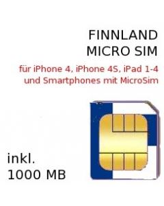 Finnland MICRO SIM