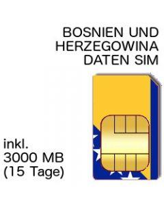 Bosnien Herzegowina SIM