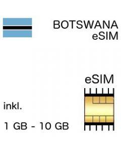 Botsuana eSIM Botwana