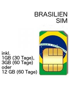 Brasilien SIM