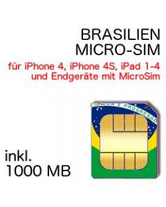 Brasilien MICRO-SIM