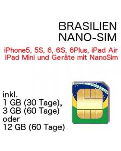 Brasilien NANO-SIM