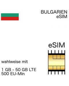 bulgarische eSIM Bulgarien