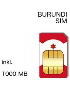 Burundi Prepaid SIM inkl. 1000 MB