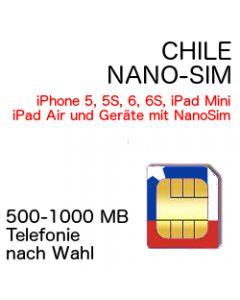 Chile NANO-SIM
