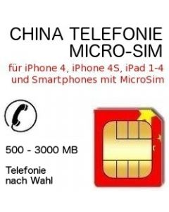 China Telefonie MICRO-SIM