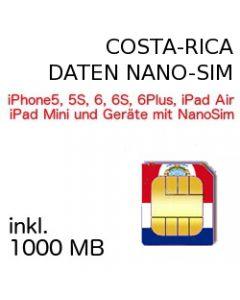 Costa Rica NANO-SIM