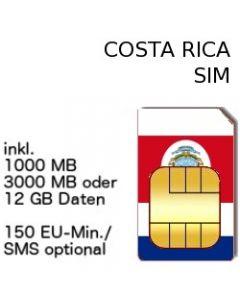 Costa Rica SIM