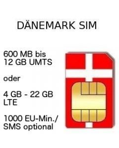 Dänemark SIM