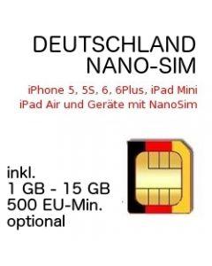 Deutschland NANO-SIM