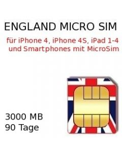 England MICRO-SIM
