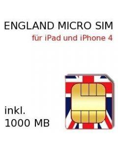 England MICRO SIM