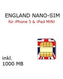 England NANO SIM
