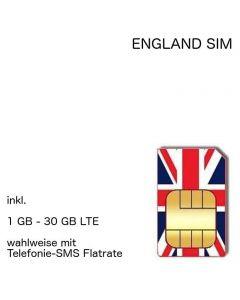 England SIM UK englisch
