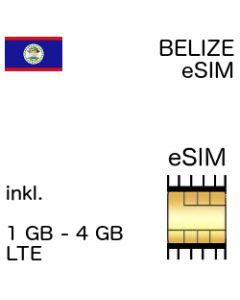 Belize eSIM belizianisch