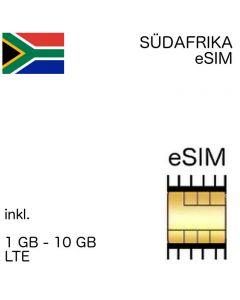 eSIM Südafrika