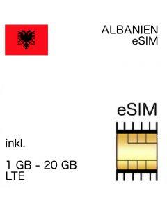 Albanien eSIM Albania