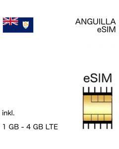 Anguillanische eSIM Anguilla