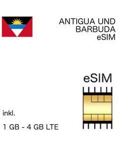 eSIM Antigua und Barbuda