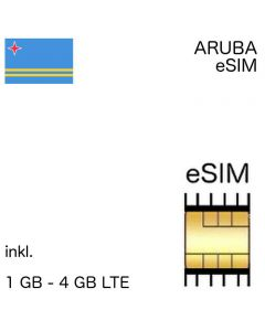 Arubaische eSIM Aruba