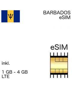 eSIM Barbados