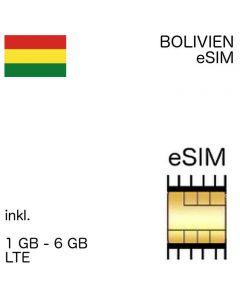 bolivianische eSIM Bolivien