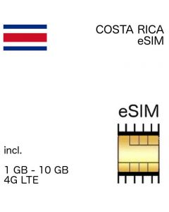 eSIM Costa Rica
