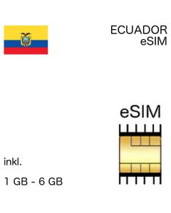 ecuadorianische eSIm Ecuador