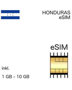 Honduranische esim Honduras
