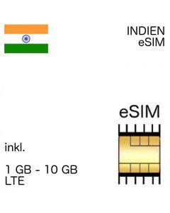 Indien eSIM India