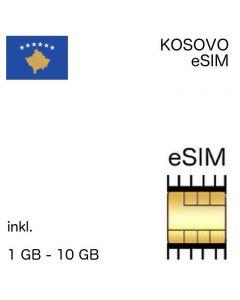 Kosovarische eSIM Kosovo