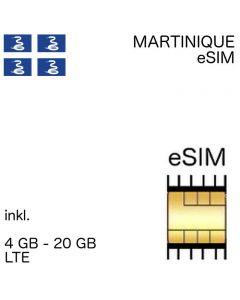 eSIM Martinique