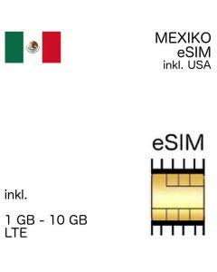 Mexiko eSIM Mexico