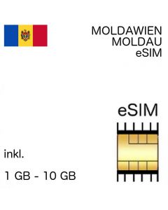 Moldawien esim Moldau