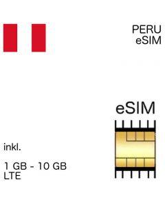 peruanische eSIM Peru