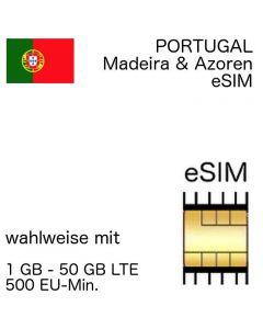 portugiesische eSIM Portugal