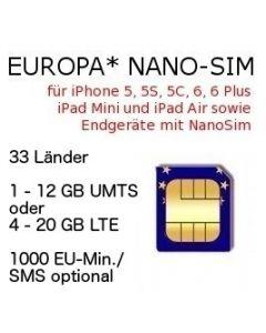 Europa Nano SIM