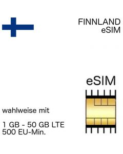 Finnische eSIM Finnland