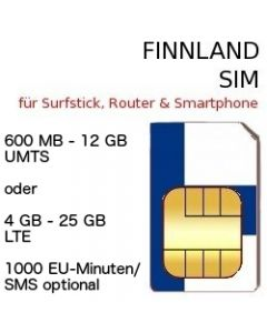 Finnland SIM LTE
