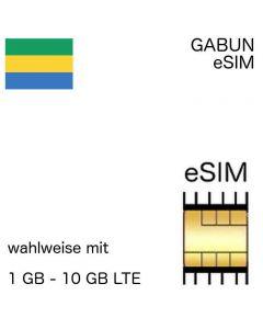gabunische eSIM Gabun