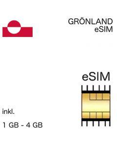 Grönländische eSIM Grönland