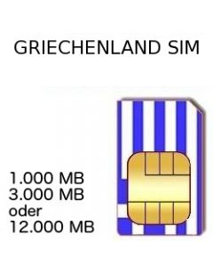 Griechenland Prepaid SIM