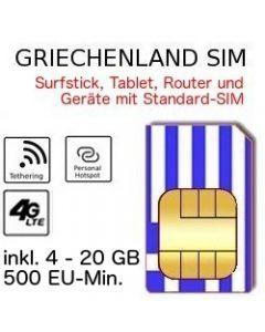 Griechenland SIM LTE
