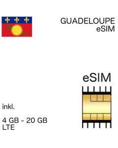 Guadeloupe eSIM