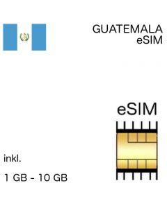 Guatemala eSIM guatemaltekisch